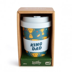 King Dad Eco Friendly Bamboo Travel Cup - 2