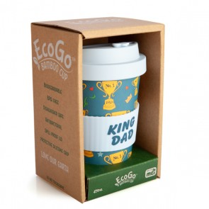 King Dad Eco Friendly Bamboo Travel Cup - 1