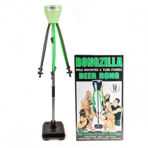 Bongzilla Glow-in-the-Dark Beer Bong by Head Rush - 1