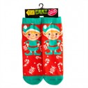 Christmas Elf Feet Speak Socks - 4