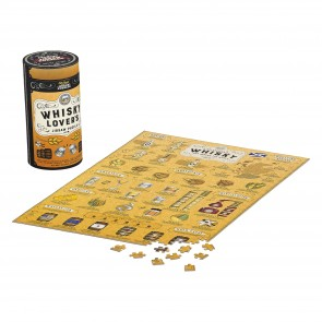 Whisky Lovers 500pc Jigsaw Puzzle by Games Room - 1