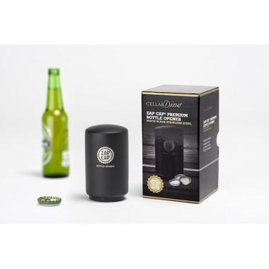 Zap Cap Premium Stainless Steel Bottle Opener by Cellardine - 1