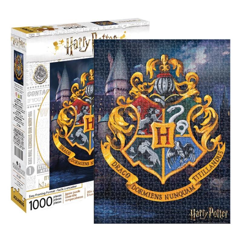 Harry Potter – Hogwarts Logo 1000pc Puzzle - 1