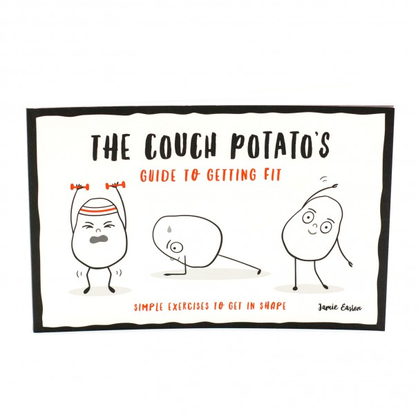 Couch Potato's Guide to Getting Fit - Simple Exercises to Get in Shape Book - 1