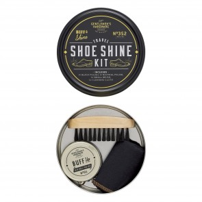 Travel Shoe Shine Tin by Gentlemen's Hardware - 1