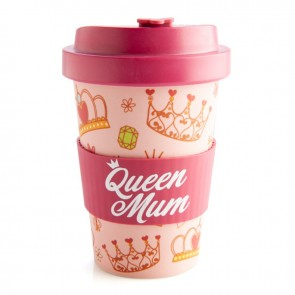 Queen Mum Eco Friendly Bamboo Travel Cup - 1