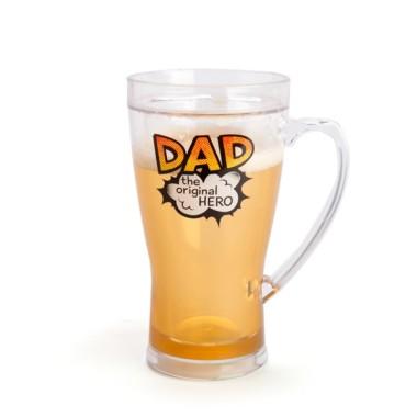 Dad the Original Hero Icy Beer Mug - 1