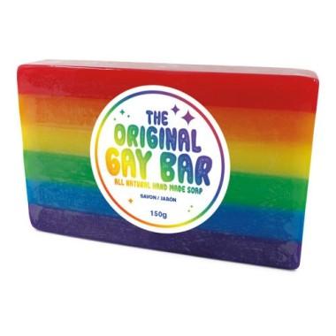The Original Gay Bar - Rainbow Soap Bar - 1