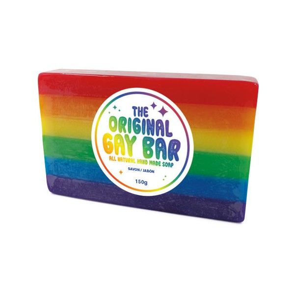 The Original Gay Bar - Rainbow Soap Bar - 1