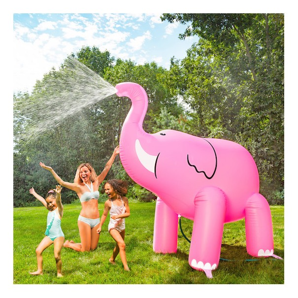 Ginormous Inflatable Elephant Yard Sprinkler - 1