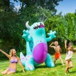 Ginormous Inflatable Monster Yard Sprinkler - 1