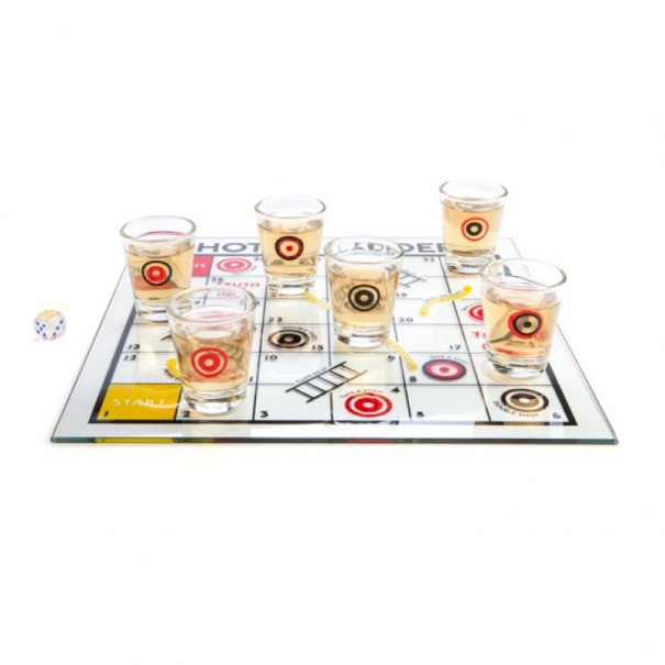 Shooters Snakes & Ladders Drinking Game - 1