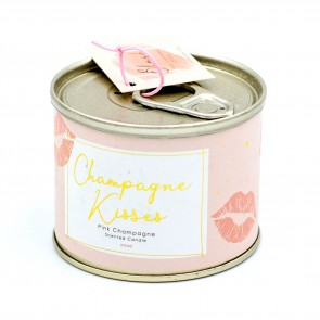 Champagne Kisses Ring Pull Candle - 1