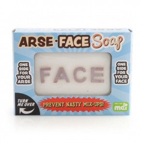 Arse and Face Novelty Soap - 1