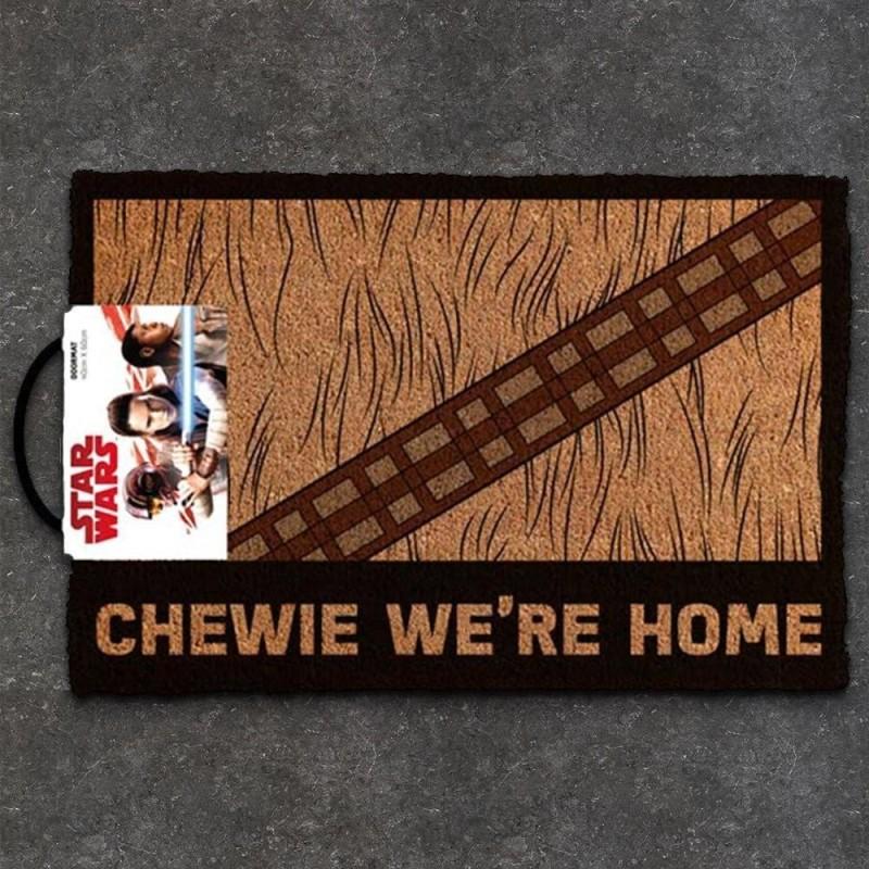 Star Wars Chewie We're Home Doormat - 1
