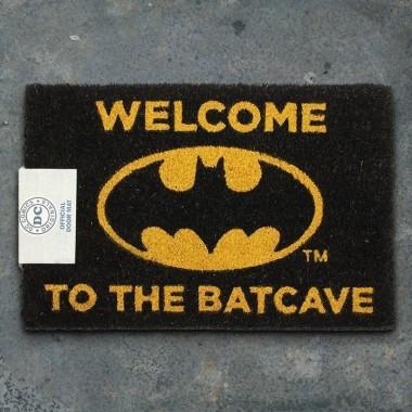 DC Comics Batman Welcome To The Batcave Doormat - 1
