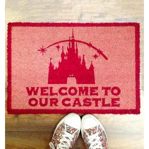 Disney Princess - Welcome To Our Castle Doormat - 1