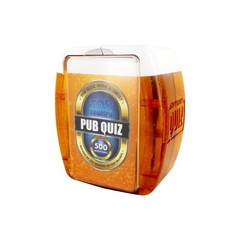 500 Questions Pub Quiz Drinking Card Game - 1