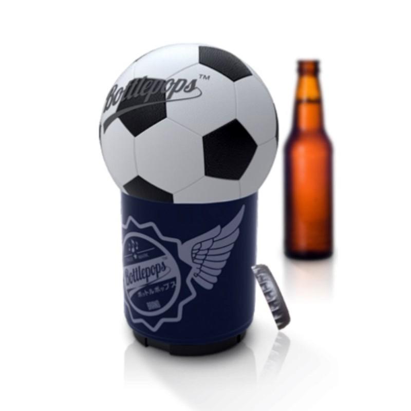 Bottlepops Original Soccer Football Talking Bottle Opener - 1