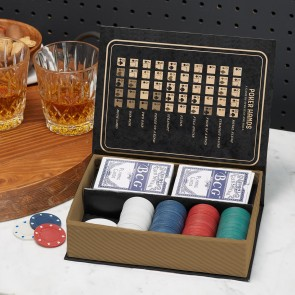 Classic Poker Set in Gift Box - 1