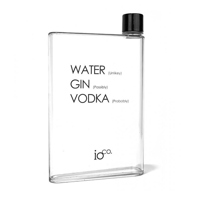 Cheeky A5 Flat Water Bottle - 1