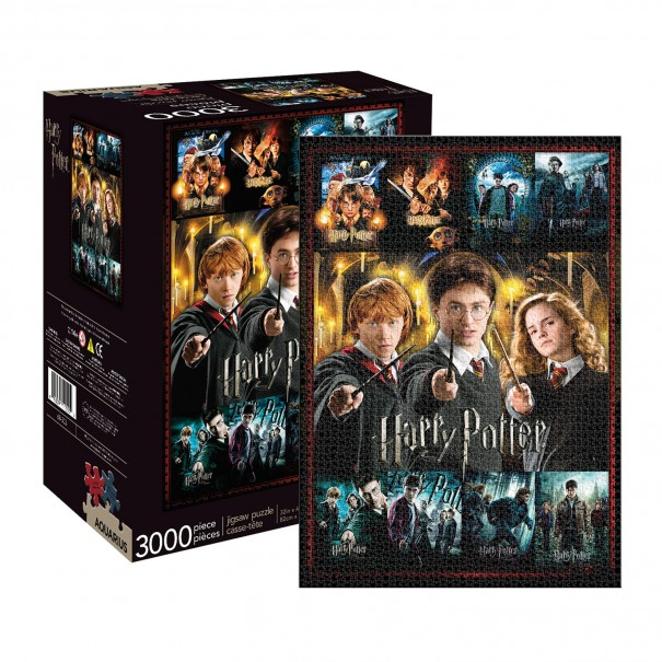 Harry Potter Movie Collection 3000pc Puzzle