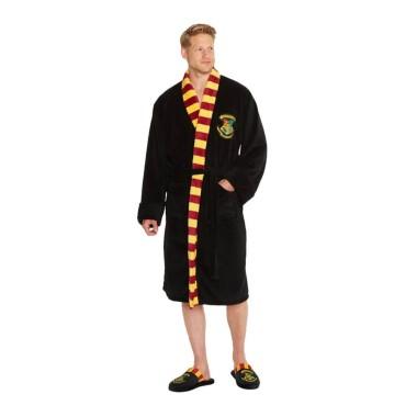 Harry Potter - Hogwarts Fleece Bathrobe
