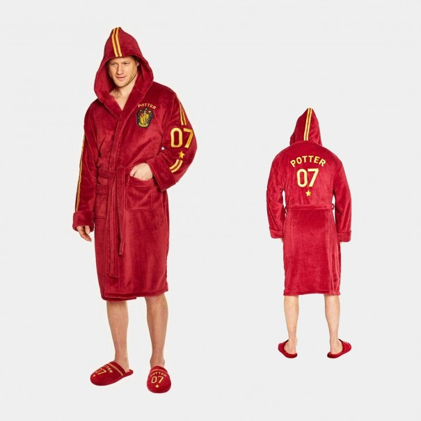 Harry Potter - Quidditch Fleece Bathrobe