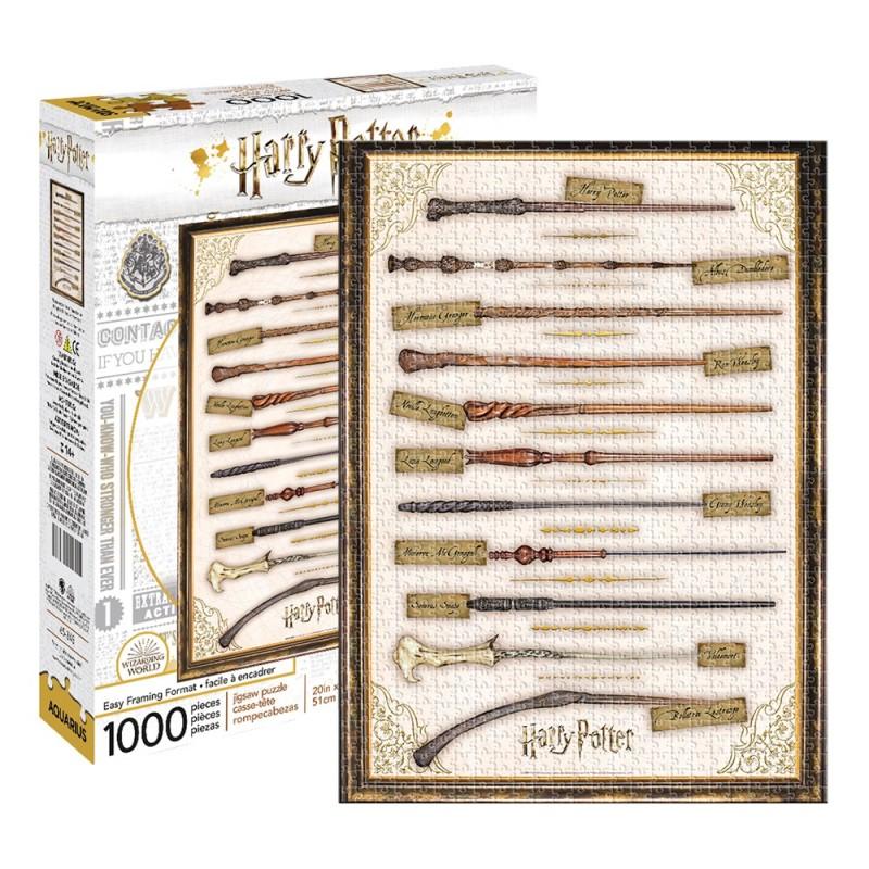 Harry Potter – Wands 1000pc Puzzle - 1