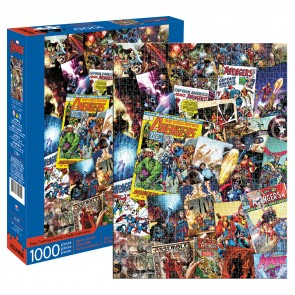 Marvel – Avengers Collage 1000 Piece Jigsaw Puzzle - 1