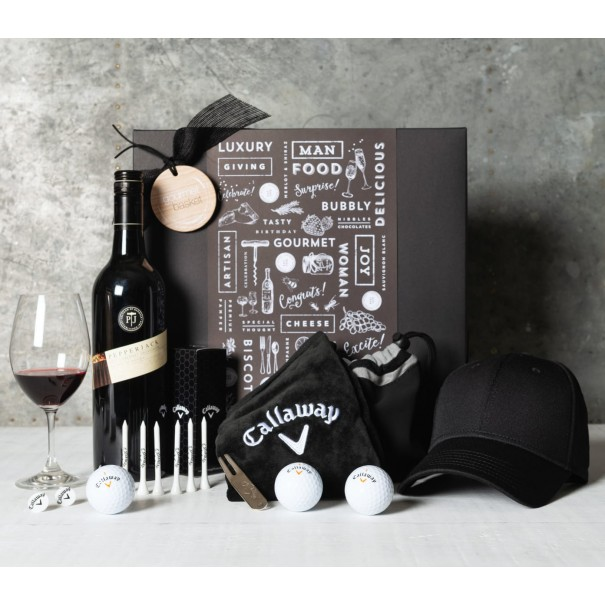Golf and Wine Appreciation Gift Set - 1