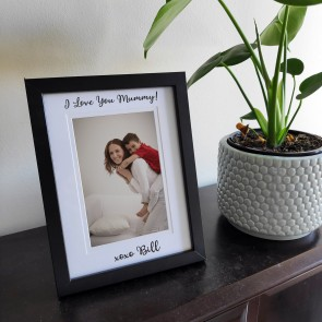 Personalised Mum Photo Frame - Also For Grandam, Nan & Ma