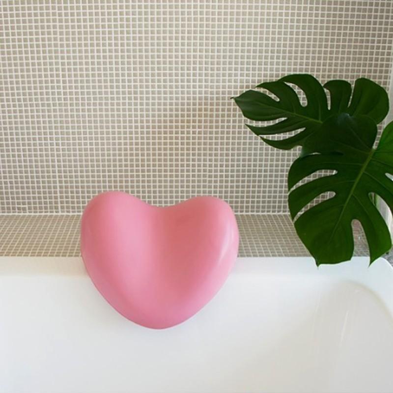Bath Pillow - Heart Shape - 1