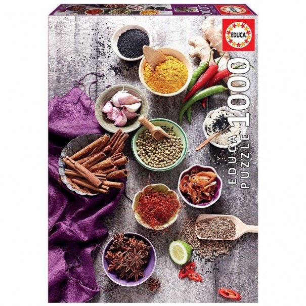 Assorted Spices 1000 Pieces Jigsaw Puzzle - 1