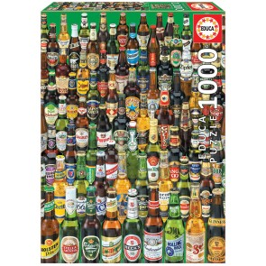 Beers From Around The World 1000 Pieces Jigsaw Puzzle - 1