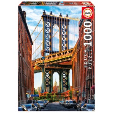 Manhattan Bridge 1000 Pieces Jigsaw Puzzle - 1