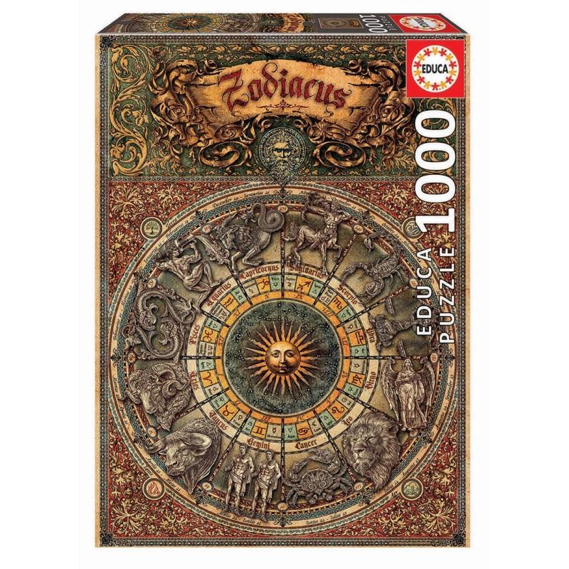 Zodiac 1000 Pieces Jigsaw Puzzle - 1