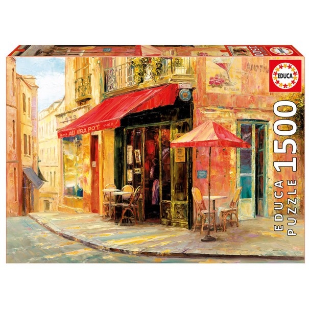 Hillside Cafe 1500 Pieces Jigsaw Puzzle - 1
