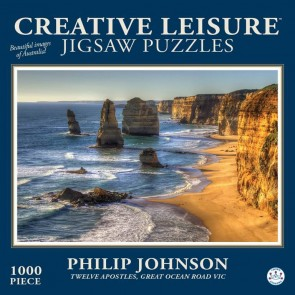 Twelve Apostles, Great Ocean Road VIC 1000 Pieces Jigsaw Puzzle - 1