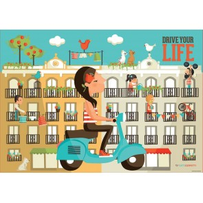 Drive Your Life 500 Pieces Jigsaw Puzzle - 1