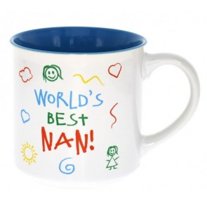 World's Best Nan Kid Art Mug - 1