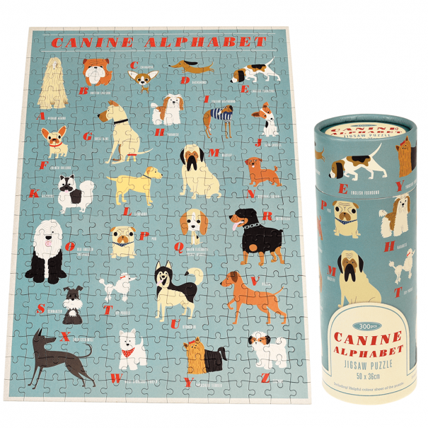 Canine Alphabet 300 Pieces Puzzle In A Tube - 2