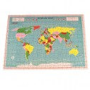 World Map 300 Pieces Puzzle In A Tube - 4