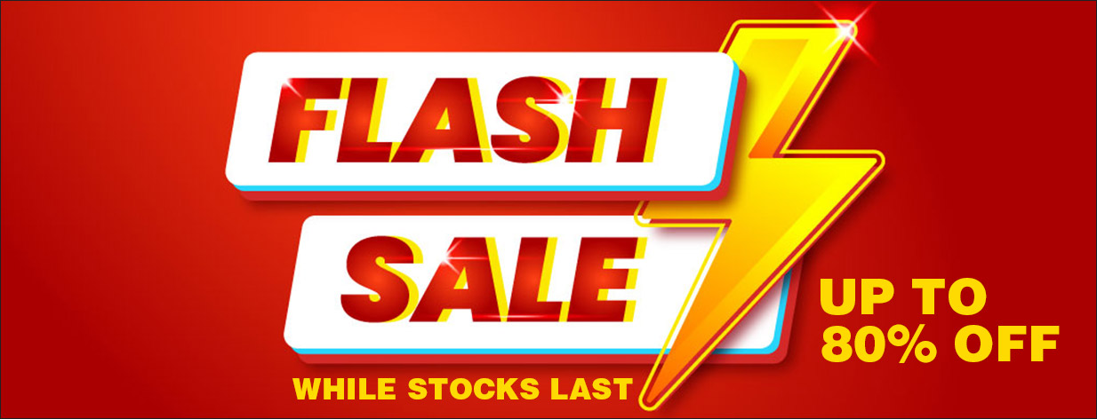 Flash Sale - Up To 80% Off